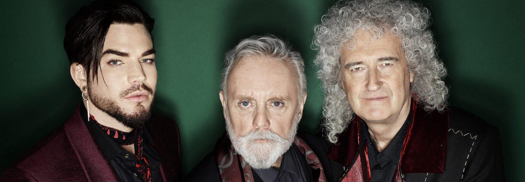Queen Adam Lambert Bryan May Roger Taylor